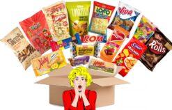 Rumänische Süßigkeitenbox